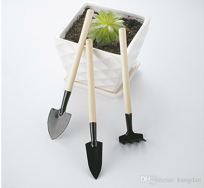 حديقة زهرة زراعة أداة 3 قطعة / المجموعة حديقة أدوات البسيطة جيب مجرفة harrows المجرفات بوعاء النباتات للبستاني كيت