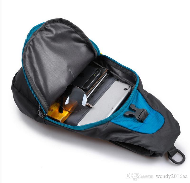 / sacchetto della cassa della borsa sportiva esterna impermeabile Sling zaino cross body singola borsa a tracolla con cinturino regolabile l'escursionismo in esecuzione