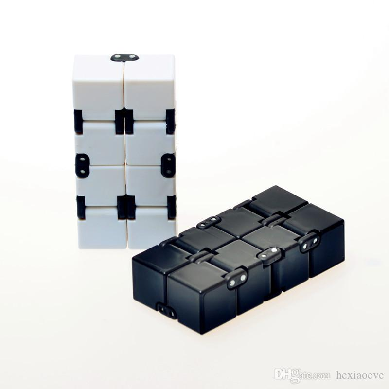 Infinity Cube Cube Fidget Toy Finger Anxiety Stress Relief Magic Cube Blocks Adult Children Kids Decompression Toys Best Gift