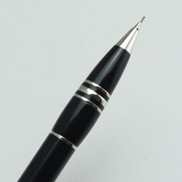 Astuccio portapenne di lusso opzione medio notte nero Matita meccanica 0.7mm Offce matite da scuola flessibile Penna scrivere