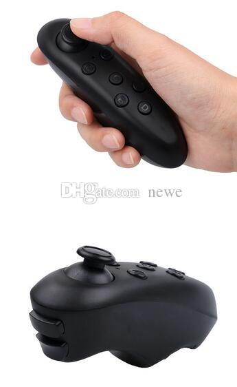 Hot Popular Bluetooth Remote Controller Wireless Gamepad Game Joystick for 3D VR Glasses IPad Tablet PC Smart TV IOS Android Game