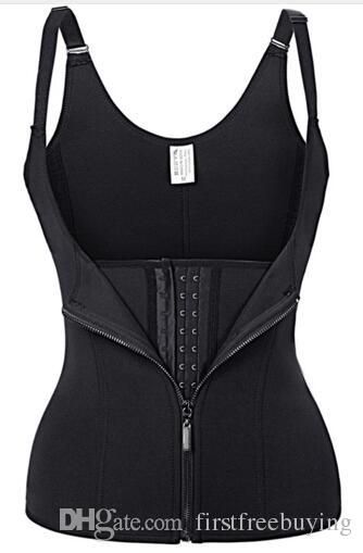 Shoulder Strap Body Shaper Waist Slimming Corset Tummy Sweat Belt Modeling Strap Slimming Fitness Belly Suit Trainers Women