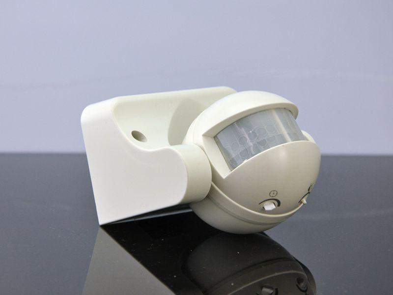 Exterior / Interior Durable 12M 180 ° Grado Seguridad Auto PIR Detector de sensor de movimiento Interruptor Luz Hogar Jardín Lámpara de luz exterior Interruptor de pared
