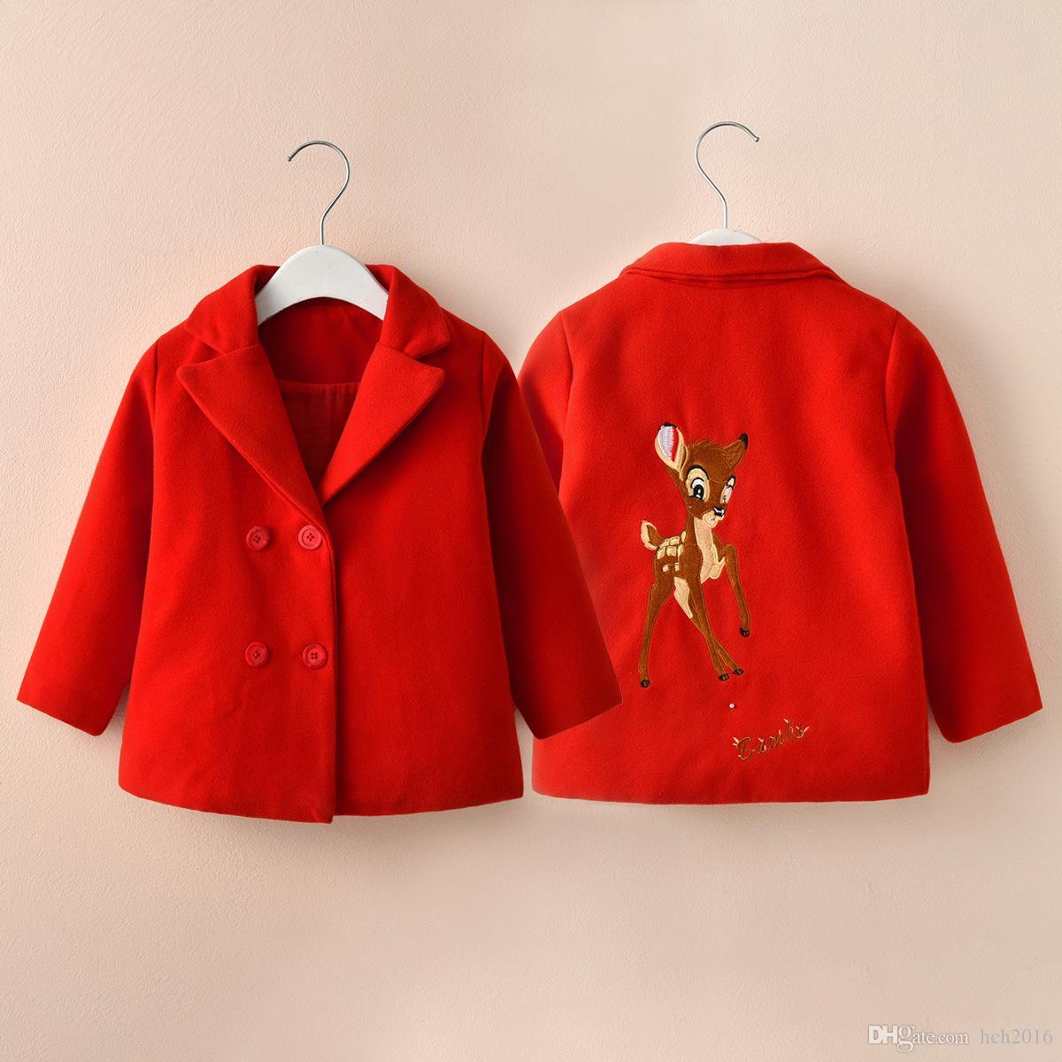 a54a3505b Baby Kids Clothing Outwear Coat 2018 Winter Christmas Girl Full Coats  Caputium Hoodie For Girls Overcoat Jackets Woolen Coat Clothes Teenage  Winter Coats ...