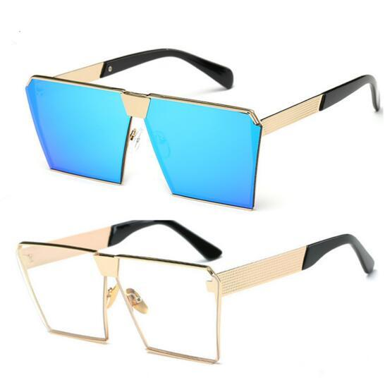 Designer Ladies Sunglasses Mens New Style Korean Square