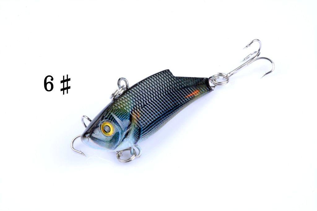 Topwater fishing lure artificial bait 5.5cm/9.5g vib plastic hard fake lures fishing tackle pesca hooks