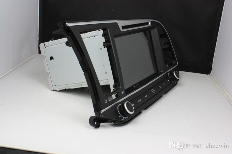 8 zoll Auto DVD player android 5.1 OS für Hyundai Elantra 2016 mit GPS, Lenkradsteuerung, Bluetooth, Radio