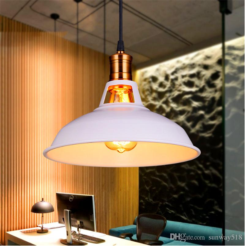 Industrial Retro Led Pendant Lighting Iron Art Pendant Lamp Edison