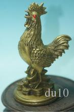 decorationExquisite old China Copper Rooster statue design classic art collection and home decorations bronze factory outlets