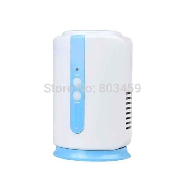 Hogar Salud Refrigerador Frutas Verduras alimentos zapato armario coche O3 ionizador desinfectar generador de ozono esterilizador purificador de aire fresco