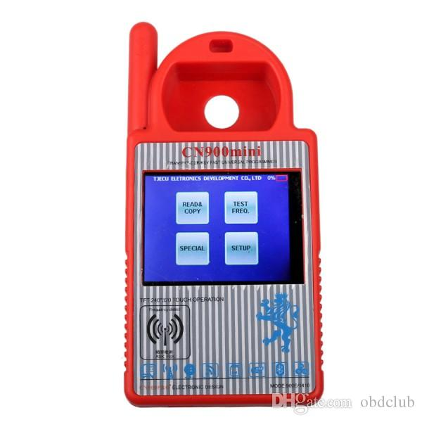 Bluetooth Mini CN900 Transponder Key Programmer Plus TOYO Key OBD II Pro for 4C 46 4D 48 G H Chips Funtion For All Key Lost