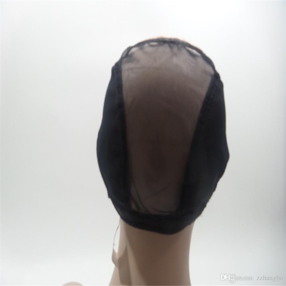 Полный парик шнурка человеческих волос Старший шелк 5,5 * 5,5 парик длинные волнистые Полный парики шнурка бразильский волос девственницы 100% с челками Для женщин Цвет 4 # kabell