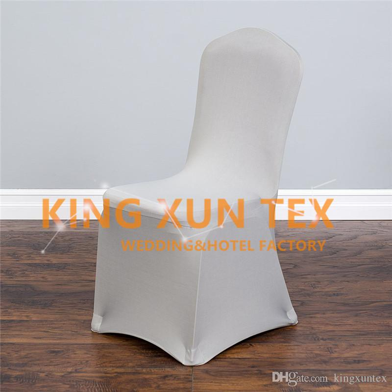 Nice Looking Sold Lycra Spandex Chair Cover For Wedding Event Banquet Decoration Flat Front