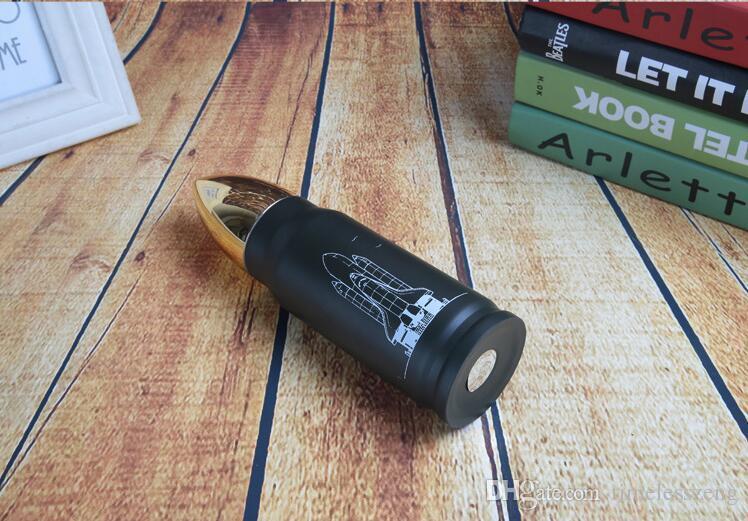 350ml 500ml Coupe Thermos en acier inoxydable à vide Bullet Bouteille Bouteille Creative Voyage d'eau Sports de plein air Voyage Drinkware