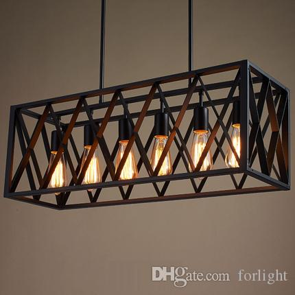 pendant lighting creative mesh chandelier personalized retro