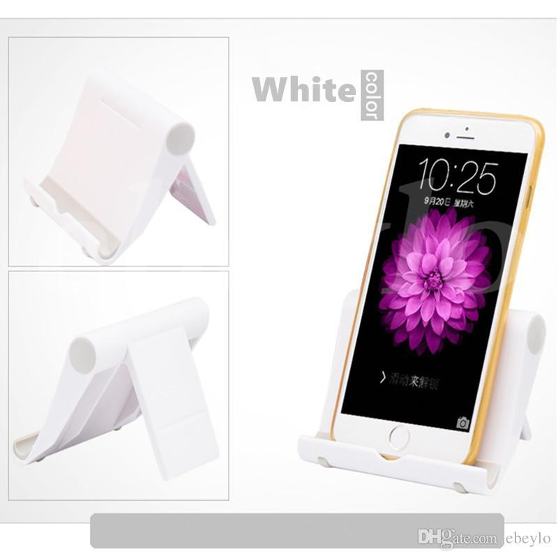 Renkli Taşınabilir Ayarlamak Açı Standı Tutucu Esnek Masa Telefon tutucu Tablet ipad Için Destek Braketi Dağı