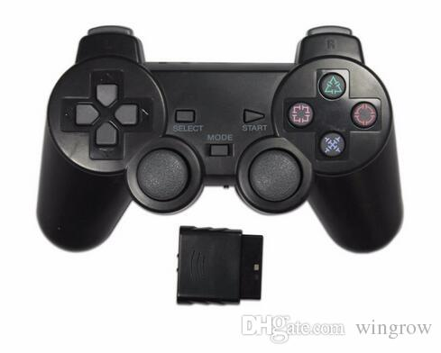 PS2 controller PS2 wireless game controller gamepad with receiver joystick for Sony playstation 2 video gaming