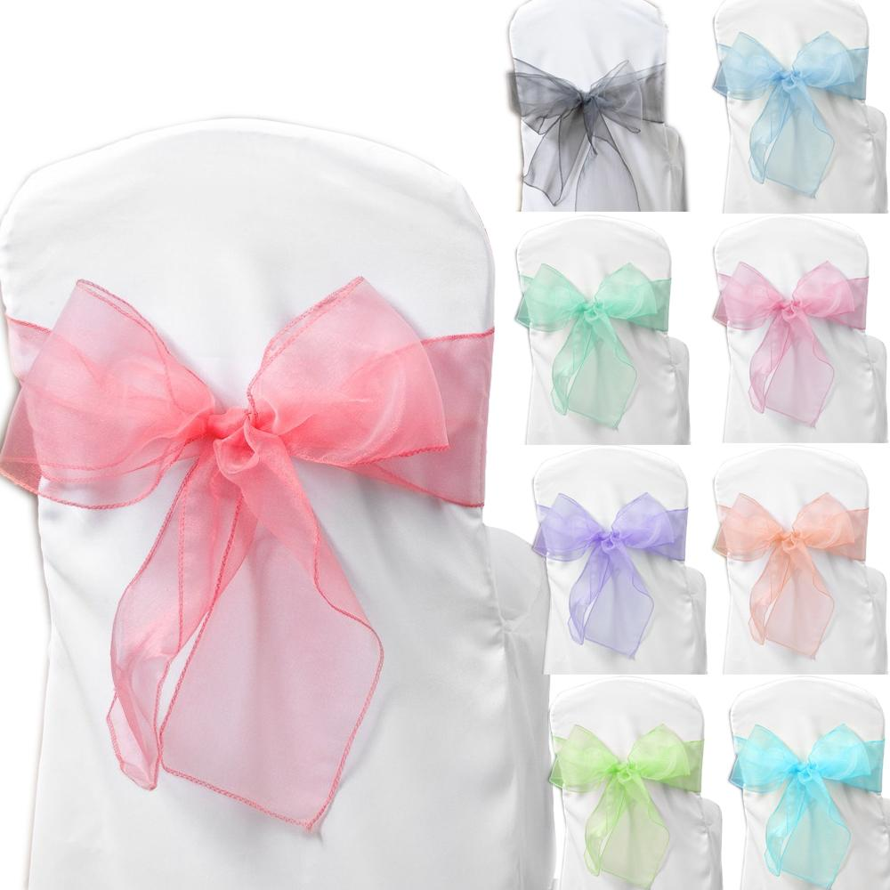 Option Organza Chair Cover Sashes,organza Wedding Party Chair ...