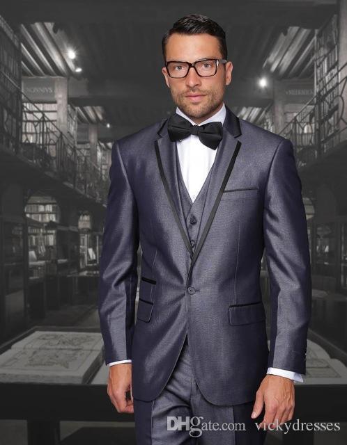 2017 New Arrival Men Wedding Suits Cheap Jacket Pants Tie Vest ...