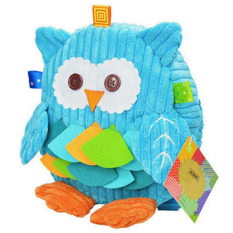 Children S Plush School Bags Kids Toy Backpacks 25cm Preschool Girls Boys  Zoo Pack Cute Cartoon Animal Owl Cow Frog Monkey Lion Ladies Handbags Book  Bags ... b8e1247397c60