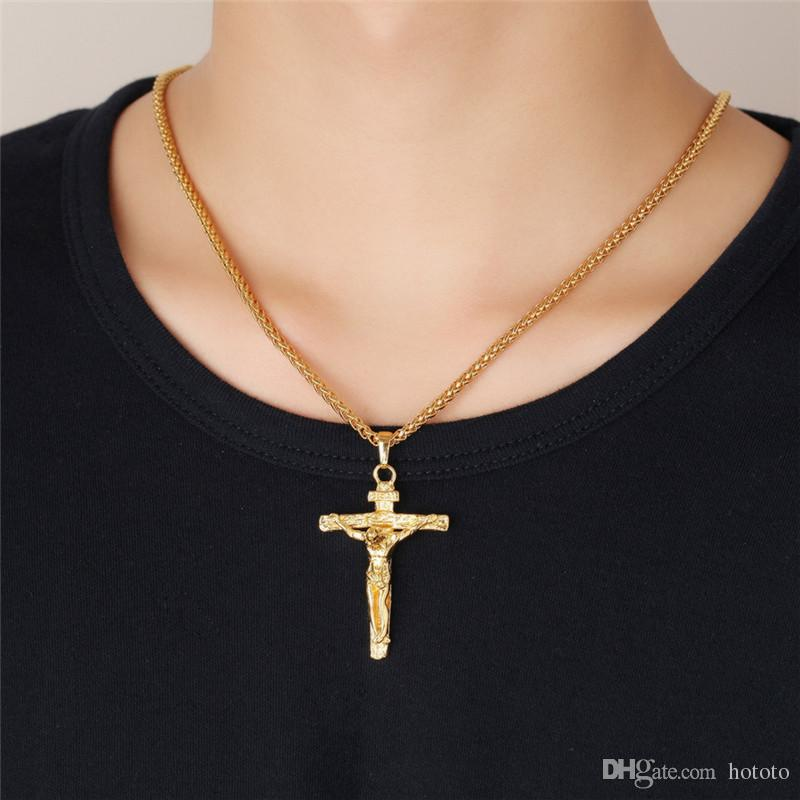 mens crucifix pendants images