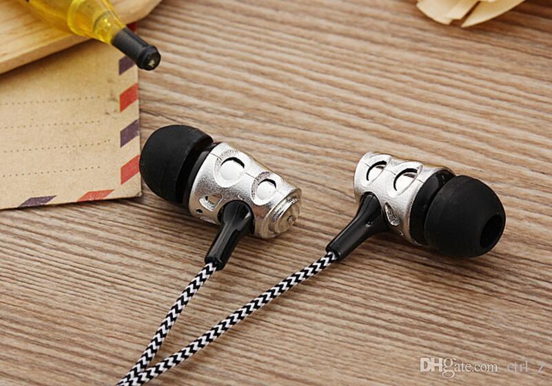 SF-A14 Auricolare stereo da musica da 3,5 mm nell'orecchio Mic Universal Sport Iphone Samsung Xiaomi Android Mobile Phone Player musicale A14