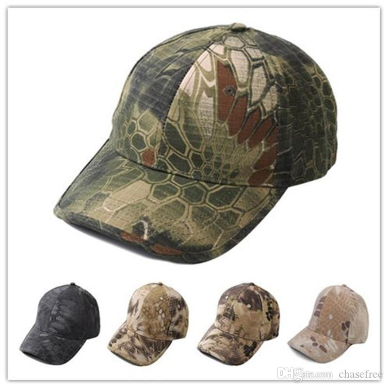 faab27e484f 2019 Men S Snapback Camouflage Tactical Hat Army Tactical Baseball Cap Head  Camouflage Caps Sun Hat Golf Hats For Men And Women From Chasefree