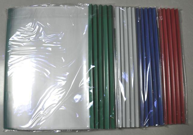 High quality Wholesale-File folder transparent plastic document bag,A4 size bag ,PP materials
