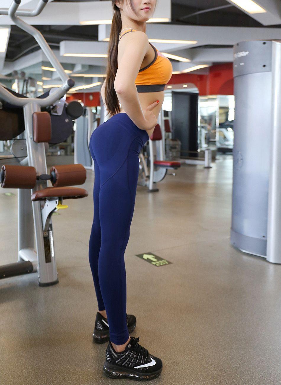 La segunda generación de pantalones deportivos ceñidos femeninos de alto rendimiento de cadera de yoga de la cadera duradera pantalones de fitness