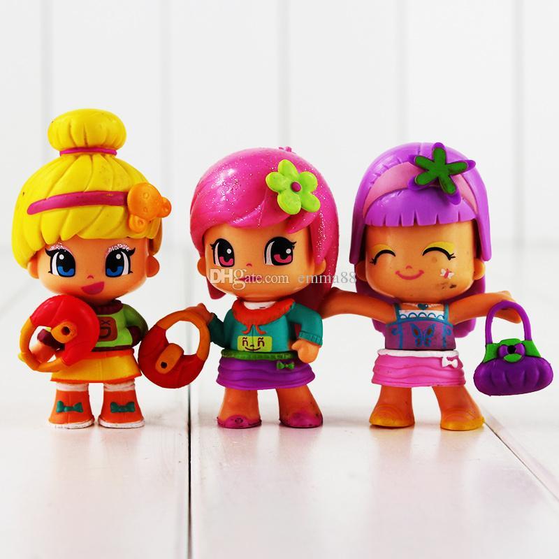 La principessa Mini Mini Q versione figura Toy Sirena PVC Action Figure Model Toy bambini regalo spedizione gratuita al dettaglio