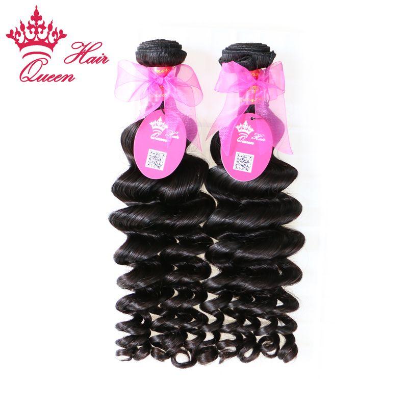 Queen Hair Products Brazylijski Dziewiczy Włosy Wyplata więcej Wave 4 SZTUK Natural Color Szybka Wysyłka