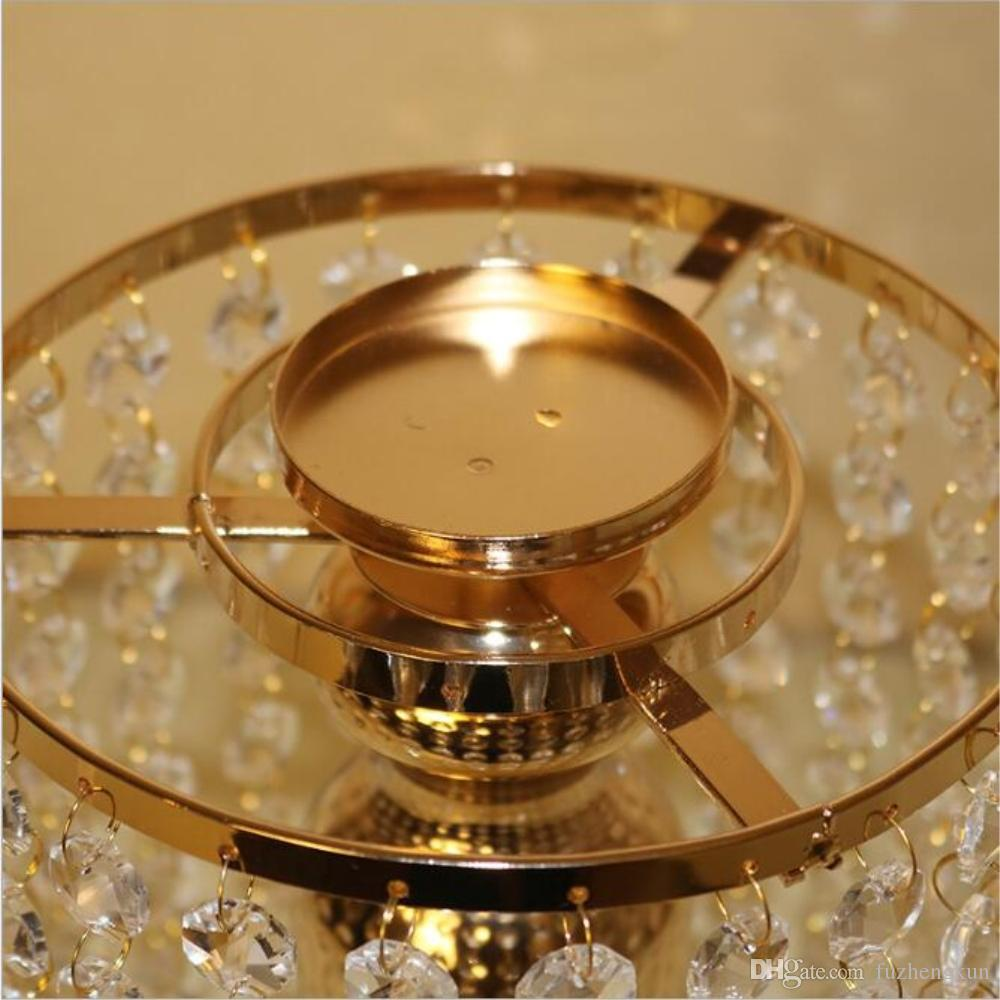 New design classic candle holder with crystals wedding event or party candle stand home decor candlesticks 1 =