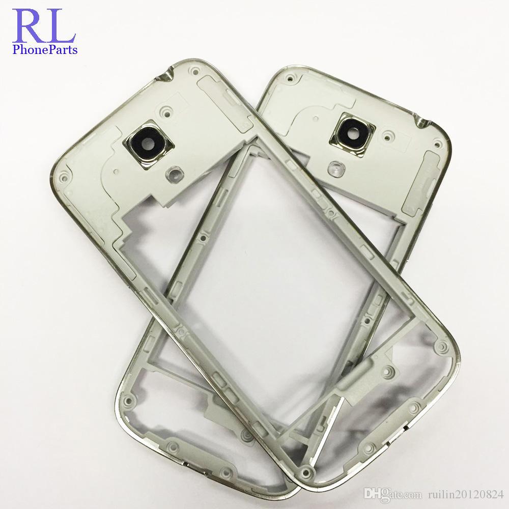 742cd56a108 Fundas De Silicona Para Celulares / Oem Marco De La Placa Central Bisel  Carcasa Con Volumen Y Botón De Encendido Para Samsung Galaxy S4 Mini I9190  / I9192 ...