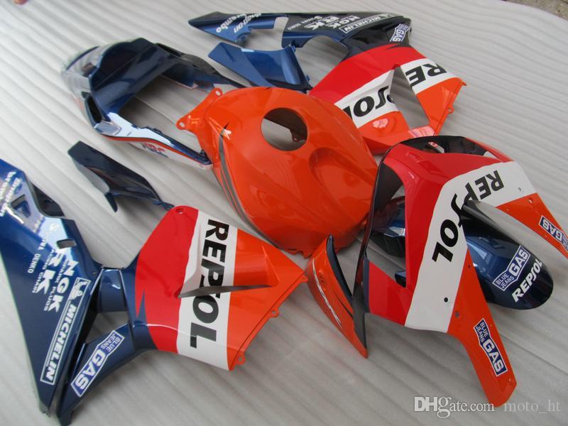 Repsol Injection molded fairing kit for Honda CBR600RR 2003 2004 CBR 600 RR 03 04 CBR600 600RR F5