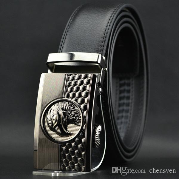 Cinturones de diseñador hombres de alta calidad cabeza de águila para hombre Cinturones de hebilla automática cinturones de hebilla para hombre cinturón de moda