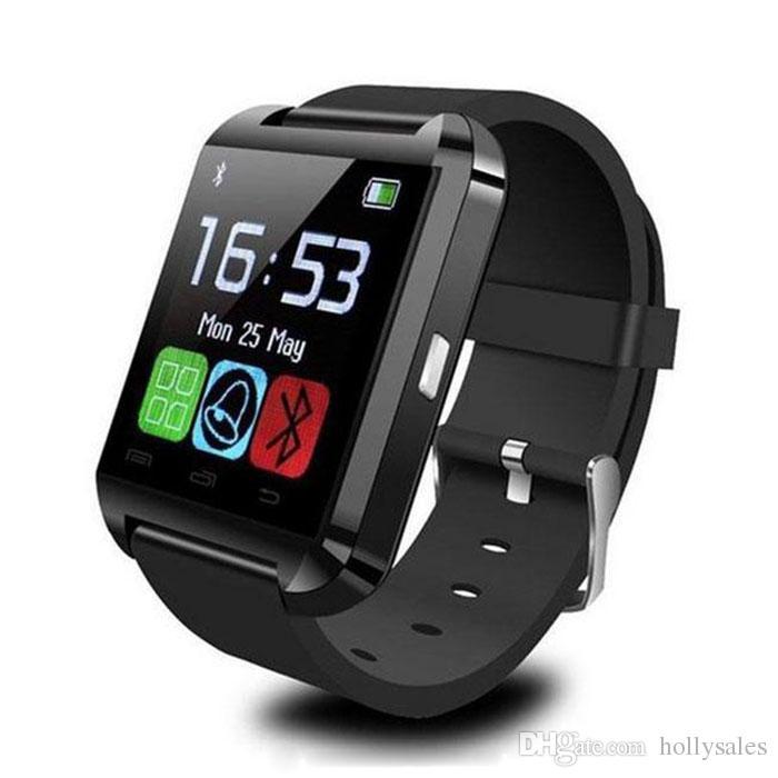 U8 Smart Watch Bluetooth wristwatch Phone Mate Smartwatch U Watch Wristwith passometer Sleep Tracker for ip 7 plus 8 samsung note 8 s8 plus