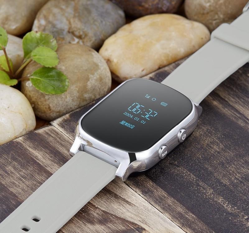 Luxury GPS Tracker Smart Watch T58 for Kids Children GPS Bracelet Google Map Sos Button Tracker Gsm GPS Locator Clock Smartwatch