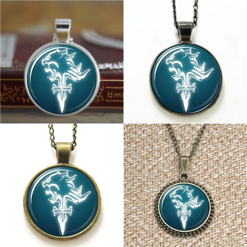 Lionheart Pendant Wholesale final fantasy viii ff8 squall riever lionheart glass wholesale final fantasy viii ff8 squall riever lionheart glass necklace keyring bookmark cufflink earring bracelet pendants for necklace pendant from audiocablefo