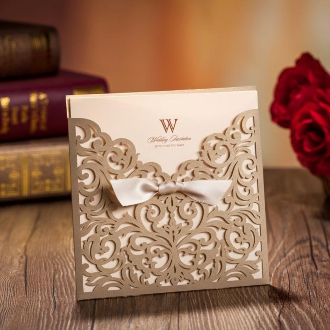 Wholesale Gold Laser Cut Wedding Invitations Printable CustomizedCW5011 Adult Birthday Cards Animated Card From Copy02 13368