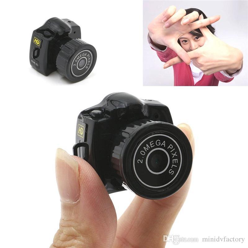 Mini Smallest HD Video Camera 720P Mini Pocket DVR Portable Camcorders Micro Digital Recorder Mini USB DV Y2000