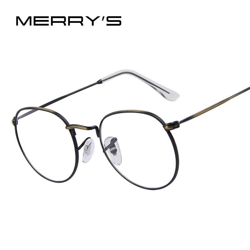 Best Merry\'S Women Retro Glasses Frames Men Brand Design Eyeglasses ...
