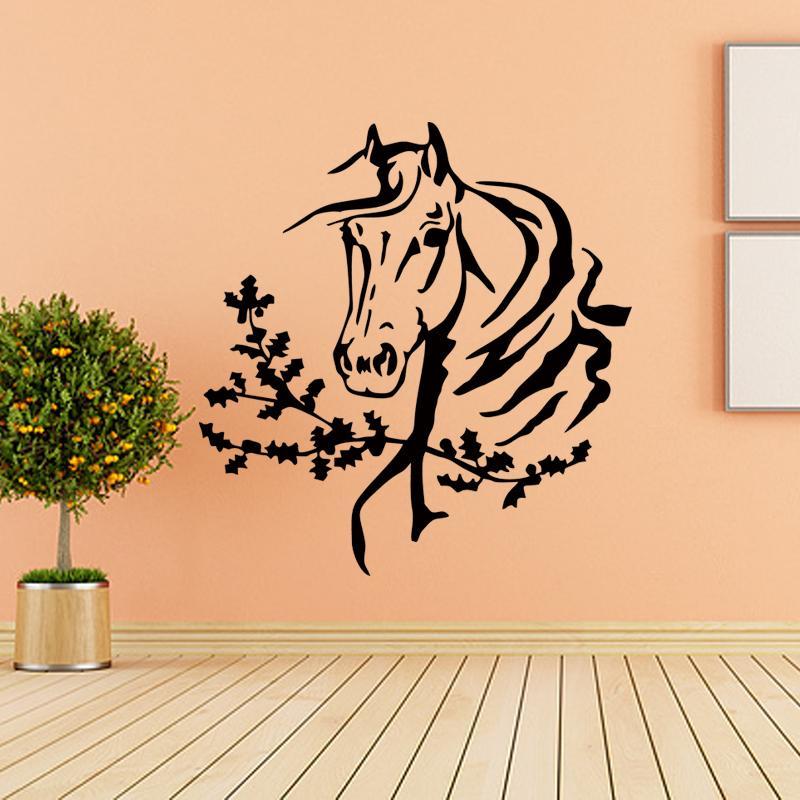 New Design Wall Room Decor Art Vinyl Sticker Mural Decal Horse Head ...