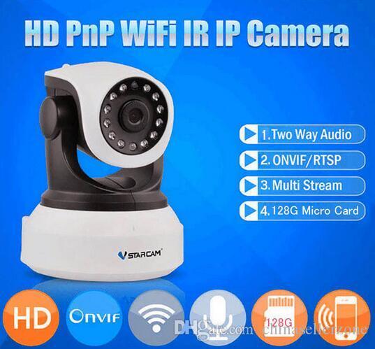 Roboter Video Überwachung Kamera Wifi Ip Kamera Hd 720 P Sicherheit Kameras Drahtlose Netzwerk Videcam Nachtsicht Weitwinkel Verschiedene Stile Kameraroboter