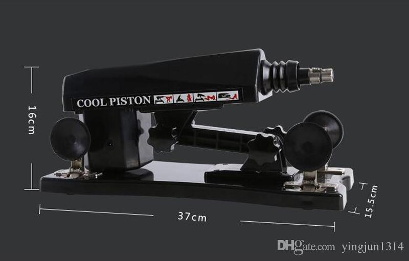 Adult Sex Products Full-automatic Retractable Sex Machine super Powerful Thrusting Sex Gun Vibrators For Women