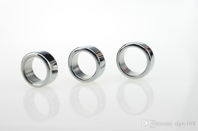 Novo Aço Inoxidável 304 Anel Peniano Metal Cockring para o Homem pênis glande anel anel de pau, dispositivo de Castidade masculino bdsm Brinquedos sexuais