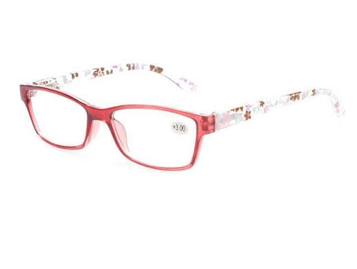 def593c2e Compre Nova Moda Óculos De Leitura Presbiopia Colorido Flor Adorno Plástico  Legs Projeto Óculos Para Mulheres Óculos Lupa De Newsilkroad58, ...