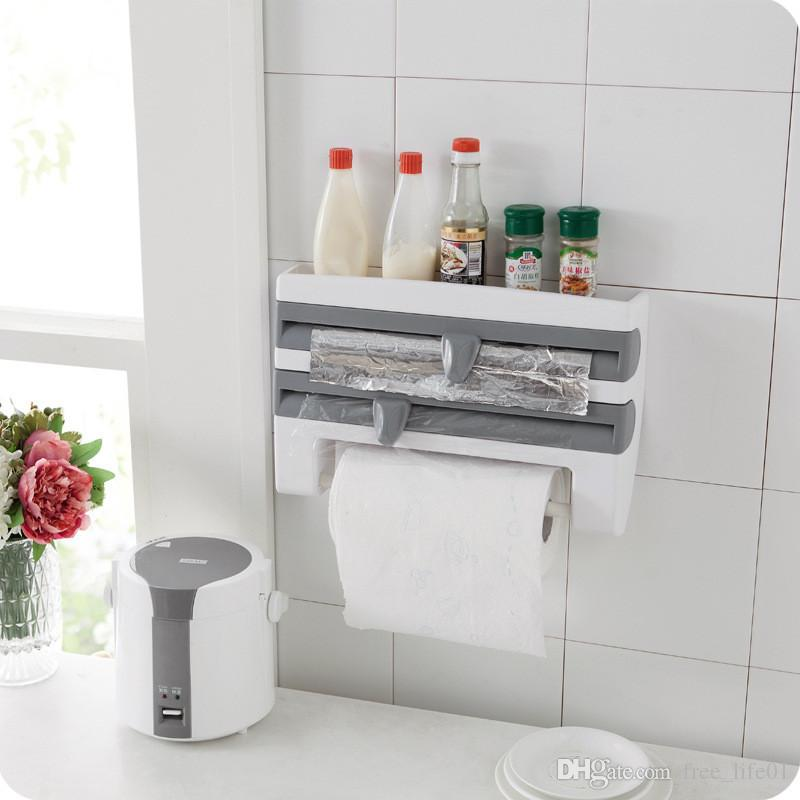 Paper Holders Collection Here New Bathroom Paper Rack Under Cabinet Paper Rolls Towel Hanging Kitchen Towels Rack Toilet Roll Holder Racks Stainless Organizer