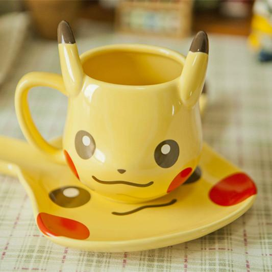 Friend Shipping Quality Super Coffee Cup For Ceramic Gift Mug Creative Cute Wholesale Free Pikachu CxEoQrdBeW