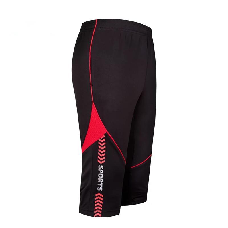 2017 New Men S 3 4 Soccer Training Pants Jogging Football Skinny Leggings  Tracksuit Pants Men Sports Running Short Trousers Sweatpants UK 2019 From  ... 97ffa0781