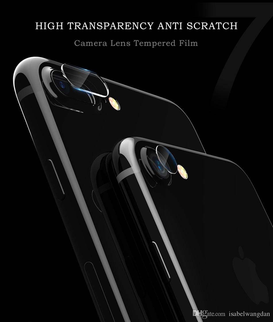 Lamorniea Transparent Camera Lens Tempered Glass For iPhone X 8 7 Plus Back Cover Lens Screen Protector Film For iPhone X 8 7